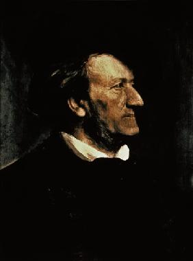 Portrait of Richard Wagner (1813-83) 19th