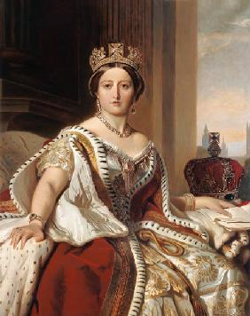 Portrait der Queen Victoria (1819-1901)