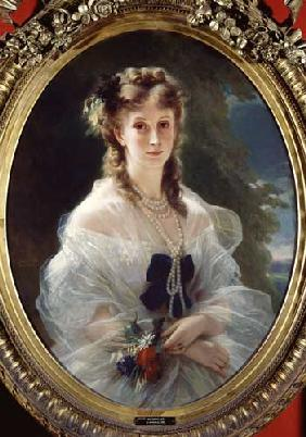 Portrait of Sophie Troubetskoy (1838-96) Countess of Morny 1863