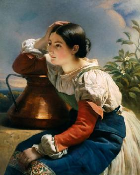 Young Italian at the Well c.1833-34