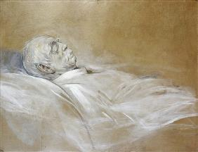 Prince Otto von Bismarck on his Death Bed