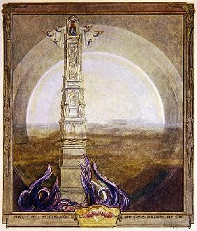 Illustration from Dante''s ''Divine Comedy'', Paradise, Canto I