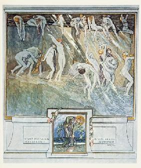 Illustration from Dante''s ''Divine Comedy'', Inferno, Canto XIV. 28