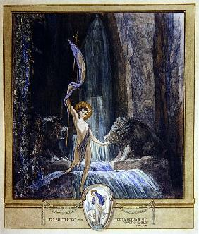 Illustration from Dante''s ''Divine Comedy'', Purgatory, Canto XIV: 45