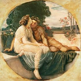 Kunstdruck von Frederic Leighton - Acme and Septimus