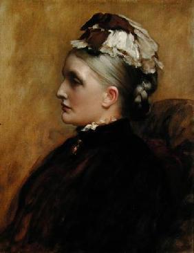 Kunstdruck von Frederic Leighton - Alexandra Leighton (Mrs Sutherland Orr) (1827-1903)