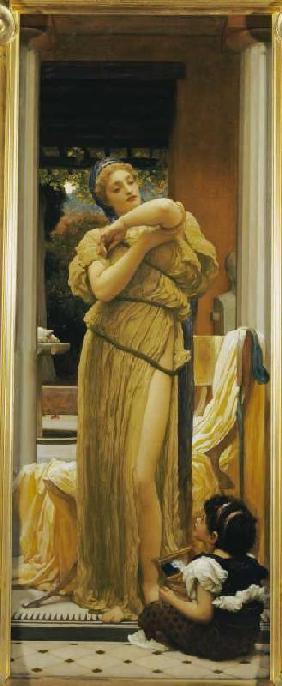 Kunstdruck von Frederic Leighton - Der Armreif