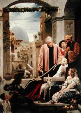 Kunstdruck von Frederic Leighton - The Death of Brunelleschi