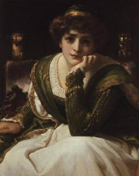 Kunstdruck von Frederic Leighton - Desdemona