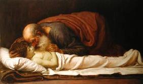 Kunstdruck von Frederic Leighton - Elisha Raising the Son of the Shunamite