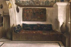 Kunstdruck von Frederic Leighton - A House at Lindos, Rhodes