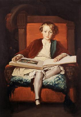 Kunstdruck von Frederic Leighton - The Hon. Frederic Wellesley