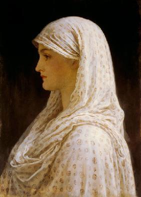 Kunstdruck von Frederic Leighton - The Vestal