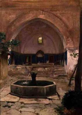Kunstdruck von Frederic Leighton - Ruined Mosque, Broussai