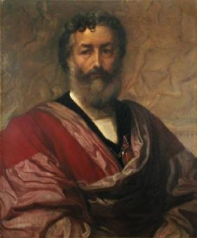 Kunstdruck von Frederic Leighton - Copy of a Self Portrait