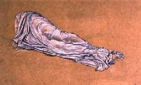 Kunstdruck von Frederic Leighton - Study for Cymon and Iphigenia