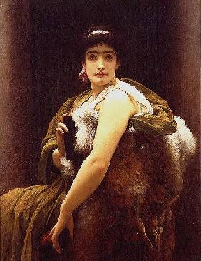 Kunstdruck von Frederic Leighton - 'Twixt Hope and Fear