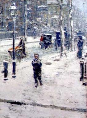 Snow Storm, Fifth Avenue 1907
