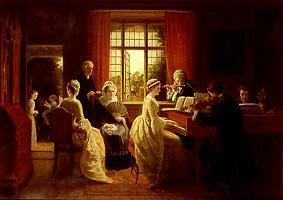 Hausmusik im pfarrhaus frederick daniel hardy als for Bach musique de chambre