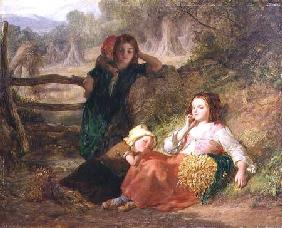 Tired Gleaners 1855