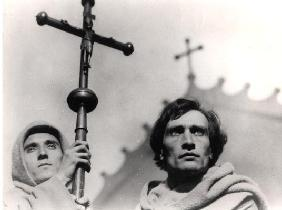 Antonin Artaud (1896-1948) in the film 'The Passion of Joan of Arc' by Carl Theodor Dreyer (1889-196 20th