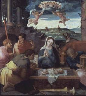 Adoration of the Shepherds, Champagne School c.1520-30