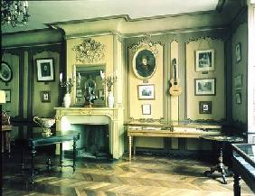 Drawing room in the birthplace of Hector Berlioz (1803-69) (photo)