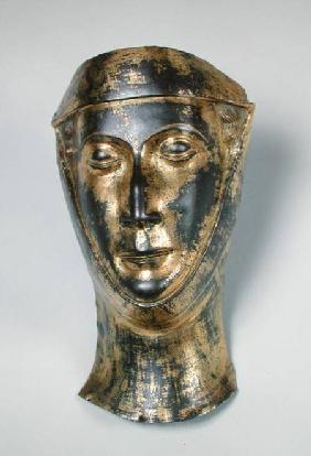 Funerary mask of the wife of Herbert Lanier (d.1290)