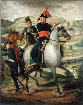 General Louis Marie Turreau de Garambouville (1756-1816) at the Gravieres Affair 1800