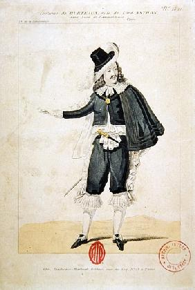 Hurteaux in the role of Lord Enrico Ashton, in the opera ''Lucie de Lammermoor'', Gaetano Donizetti