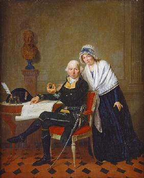 The Parents of Jean Andoche Junot (1771-1813) Duke of Abrantes before 180