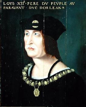 Portrait of Louis XII (1462-1515) King of France
