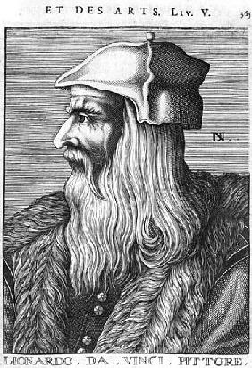 Portrait of Leonardo da Vinci (1452-1519)