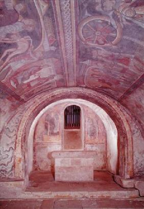 View of the Crypt and the Legend of St. Savin and St. Cyprien (photo)