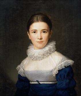 Portrait of Lina Groger, the foster daughter of the Artist 1815