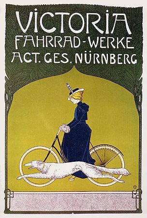 Plakat-fuer-Victoria-Fahrraeder