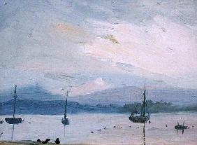 Lake Champlain (oil on canvas)
