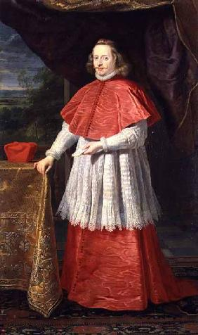 The Infante D. Ferdinand of Austria, dressed as a Cardinal