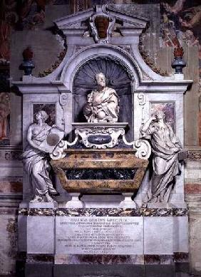Monument to Galileo Galilei (1564-1642) and his pupil Vincenzo Viviani, set up