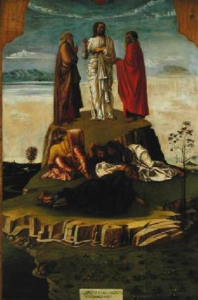 Transfiguration of Christ on Mount Tabor 1455-60