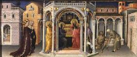 The Presentation in the Temple, from the Altarpiece of the Adoration of the Magi 1423