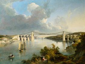 The Menai Bridge, North Wales