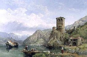 Landscape in Northern Italy c.1859