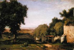 The Gate at Albano 1874