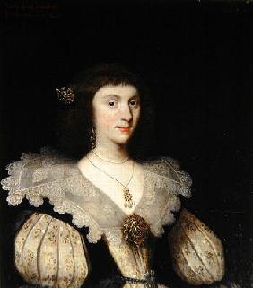 Lady Anne Campbell (1594-1638), 2nd Marchioness of Huntly, 1626 (oil on canvas) (for pair see 266107 14th