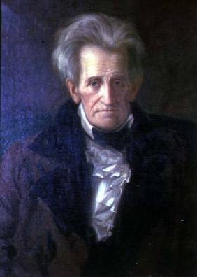 Portrait of Andrew Jackson (1767-1845) seventh President of the United States of America (1829-1837)