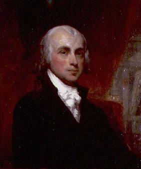 Portrait of James Madison (1751-1836) President of the United States 1809-17