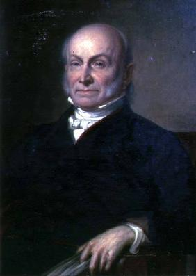 Portrait of John Quincy Adams (1767-1848) sixth President of the United States of America (1825-1829