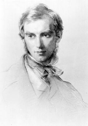 Joseph Dalton Hooker, c.1851 (charcoal and chalk on paper)