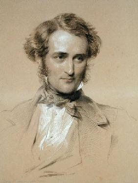 Portrait of William Benson 1855 cil &
